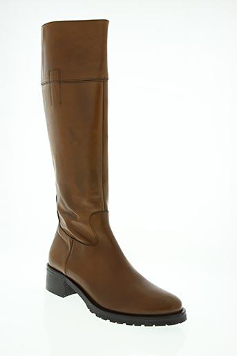 donna modello chaussures femme de couleur marron
