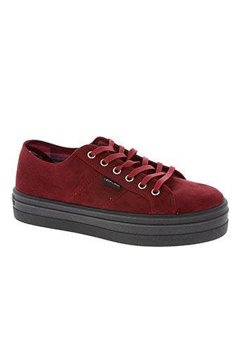 victoria chaussures femme de couleur rouge