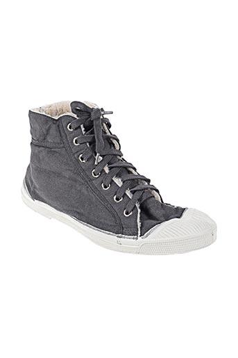 bensimon chaussures unisexe de couleur gris