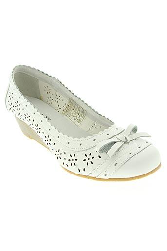 damart chaussures femme de couleur blanc