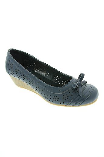 damart chaussures femme de couleur bleu