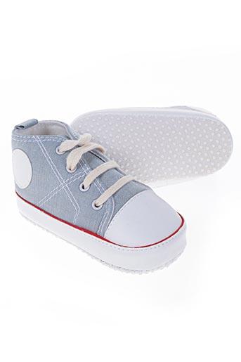 pippi chaussures garçon de couleur bleu