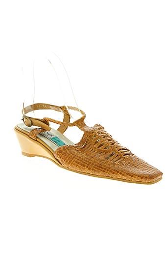 Sandales/Nu pieds marron ARNOUX pour femme