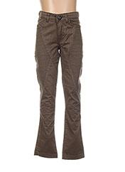 Pantalon casual vert BECKARO pour fille seconde vue