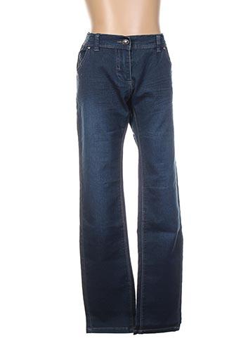 Jeans coupe slim bleu BECKARO pour fille