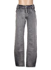 Jeans skinny gris BECKARO pour fille seconde vue