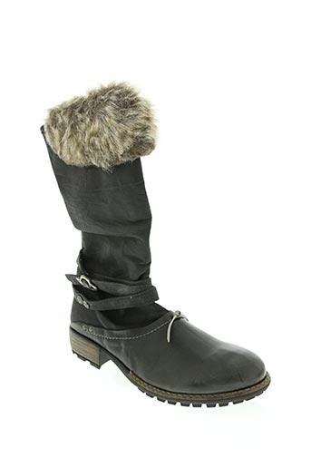 eliane et lena chaussures femme de couleur noir
