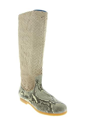 claudy chaussures femme de couleur beige