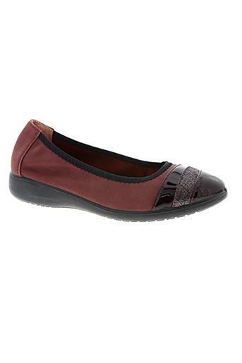 inea chaussures femme de couleur rouge