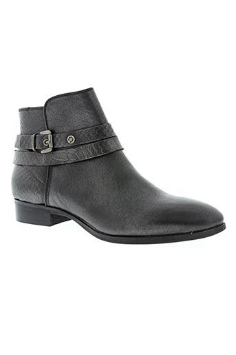 stressless chaussures femme de couleur gris