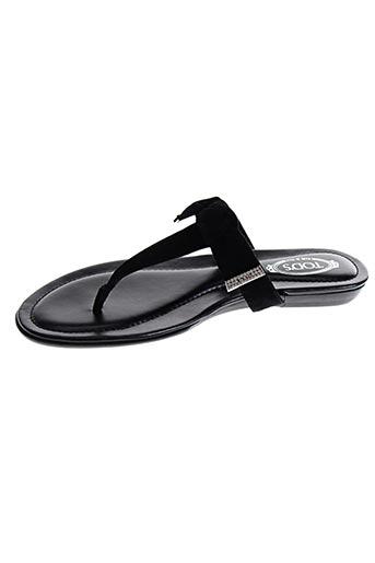 tod's chaussures femme de couleur noir