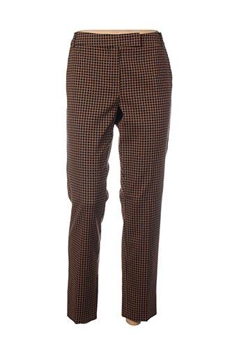Pantalon chic marron MARELLA pour femme