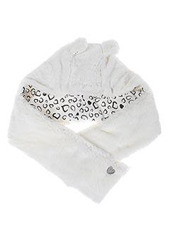 Bonnet blanc BOBOLI pour fille