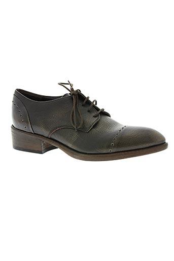 fruit chaussures femme de couleur marron