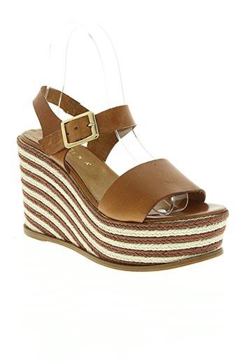 fiorina chaussures femme de couleur marron