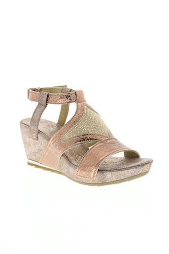 khrio chaussures femme de couleur rose