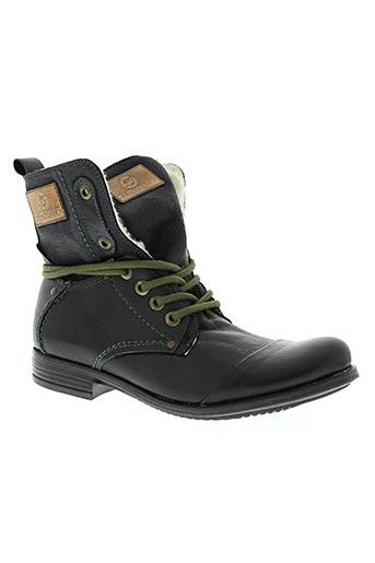 slowwalk chaussures homme de couleur noir