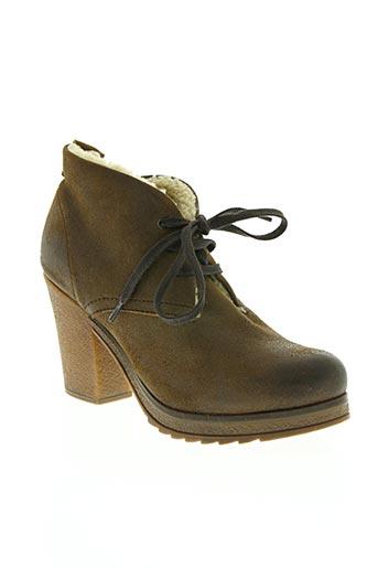 koah chaussures femme de couleur marron