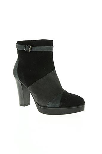 donna piu chaussures femme de couleur noir