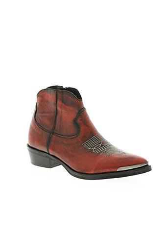 semerdjian chaussures femme de couleur rouge