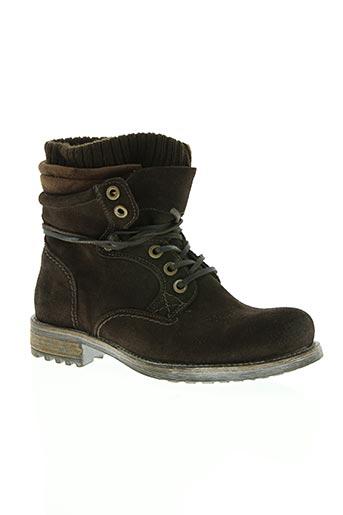 cafe noir chaussures homme de couleur marron