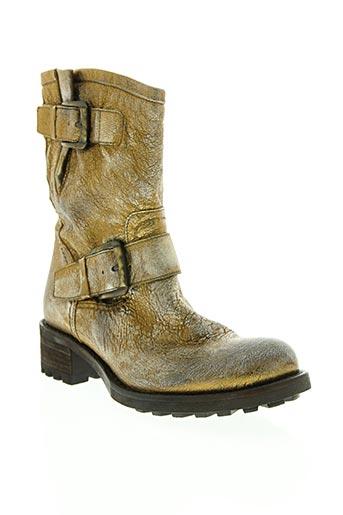 jfk chaussures femme de couleur jaune