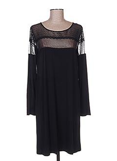 Chemise de nuit noir TECCIA pour femme