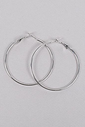 Boucles d'oreilles gris INEL pour femme