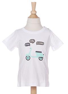 T-shirt manches courtes blanc MARESE pour garçon