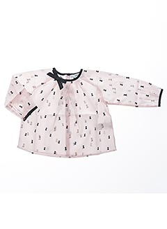 Blouse manches longues rose MARESE pour fille