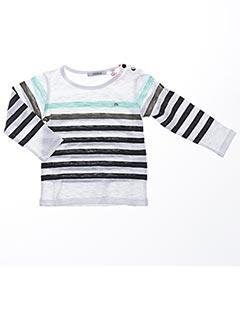 T-shirt manches longues blanc MARESE pour garçon