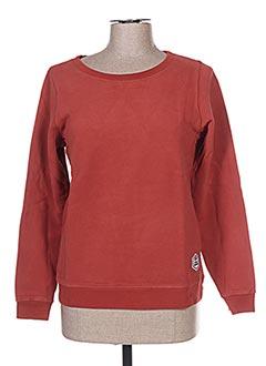 Sweat-shirt marron FRENCH DISORDER pour femme