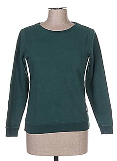Sweat-shirt vert FRENCH DISORDER pour femme