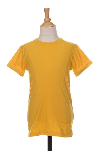 T-shirt manches courtes jaune FRENCH DISORDER pour enfant