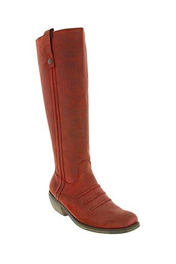 stephane gontard chaussures femme de couleur rouge