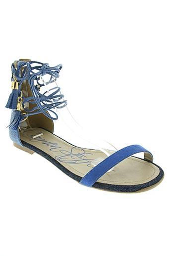 carmen steffens chaussures femme de couleur bleu