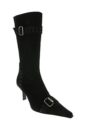 Bottines/Boots noir EMMANUELLE KHANH pour femme