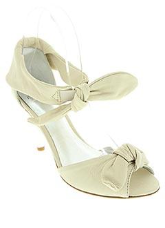 Sandales/Nu pieds beige FLUXA pour femme
