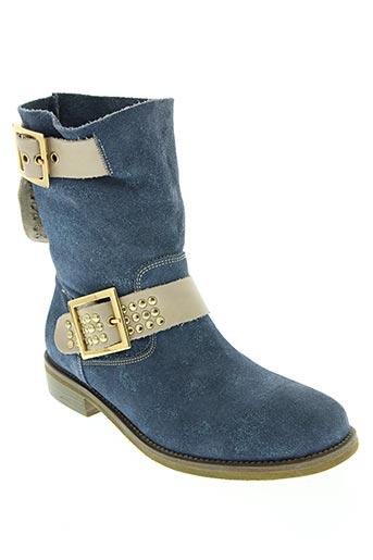 life chaussures femme de couleur bleu