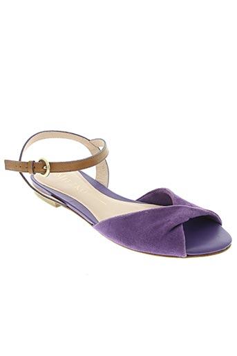 miezko chaussures femme de couleur violet