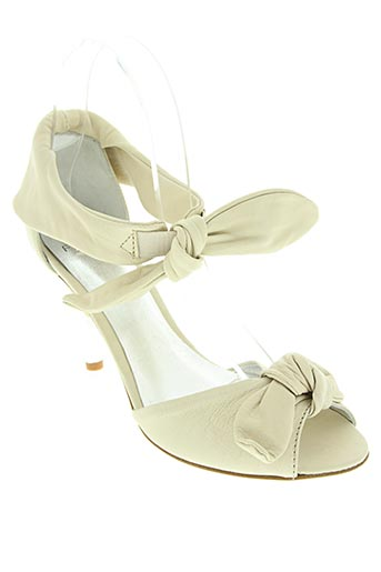 fluxa chaussures femme de couleur beige