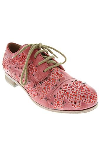 mimmu chaussures femme de couleur rouge