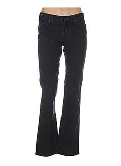 Pantalon casual gris GANT pour femme