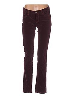 Pantalon casual violet GANT pour femme