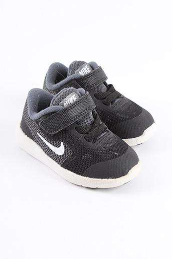 Baskets noir NIKE pour garçon