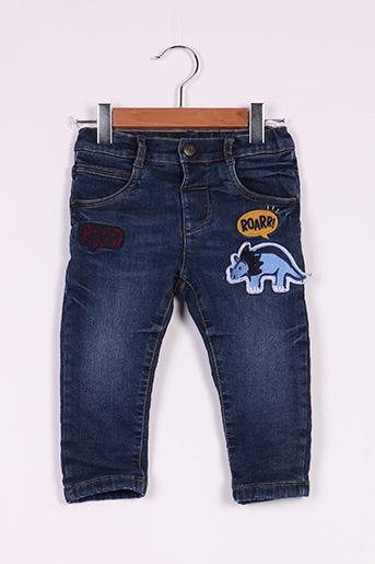 Jeans coupe slim bleu BABY CLUB pour garçon