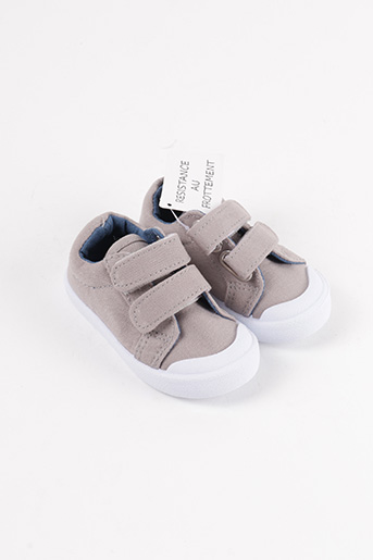 Baskets gris GEMO pour garçon