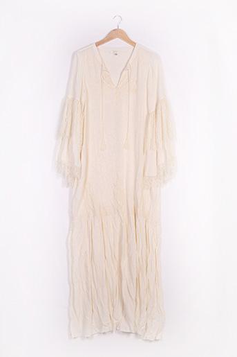 Robe longue beige BY SOPHIE pour femme