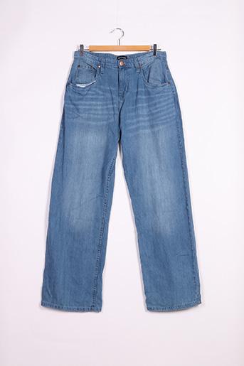 Jeans coupe droite bleu PRETTY LITTLE THING pour femme