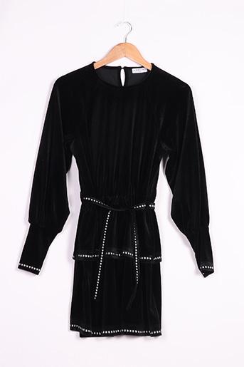 Robe courte noir LOAVIES pour femme